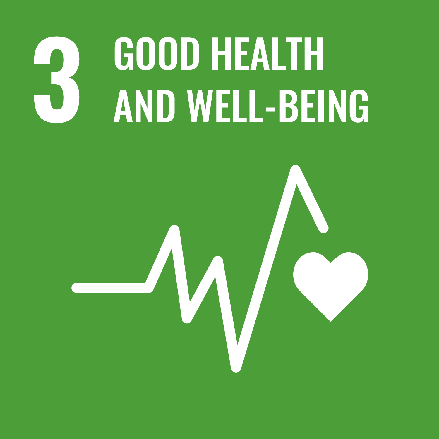 Logo featuring Good Health and Well-Being