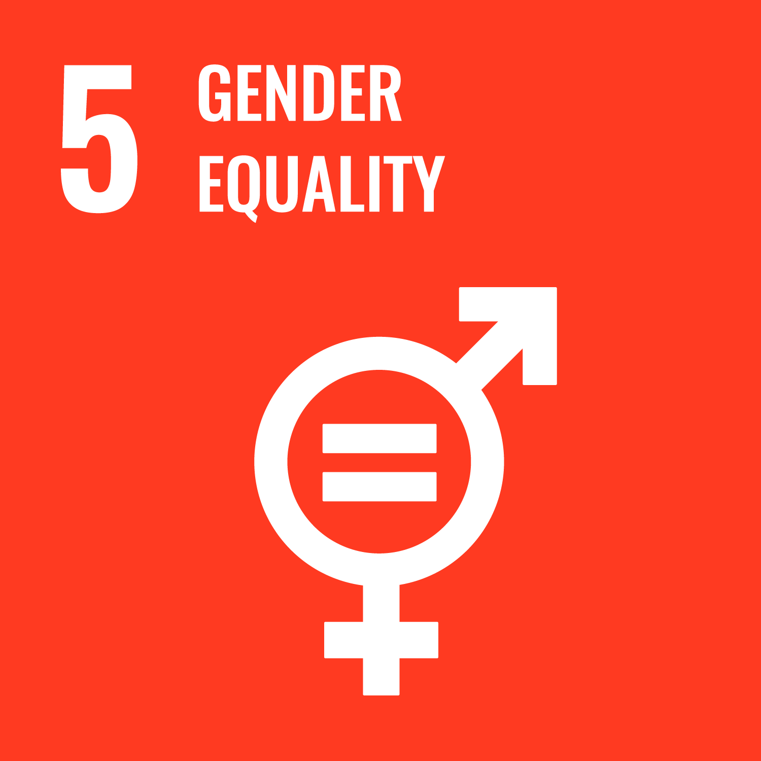 Logo featuring gender equality