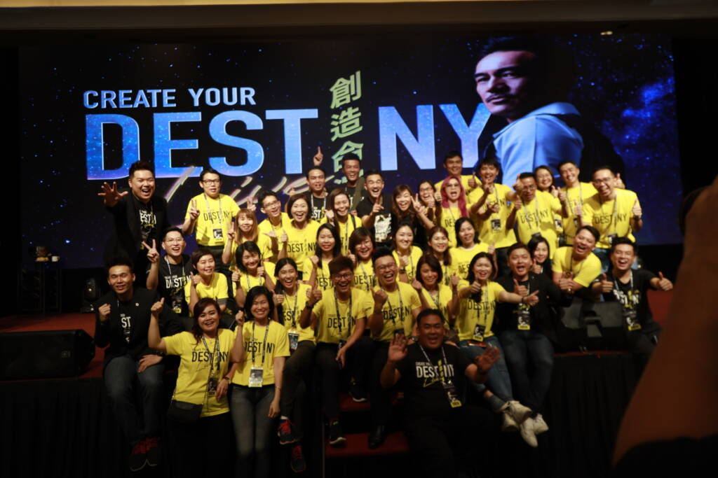 Create Your Destiny Full Audience Picture